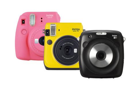 Càmeres i paper Fuji Instax